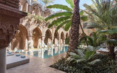 5 hoteles de lujo en Marruecos